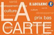 Carte Leclerc