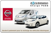 Nissan ZeroEmission Charge Pass